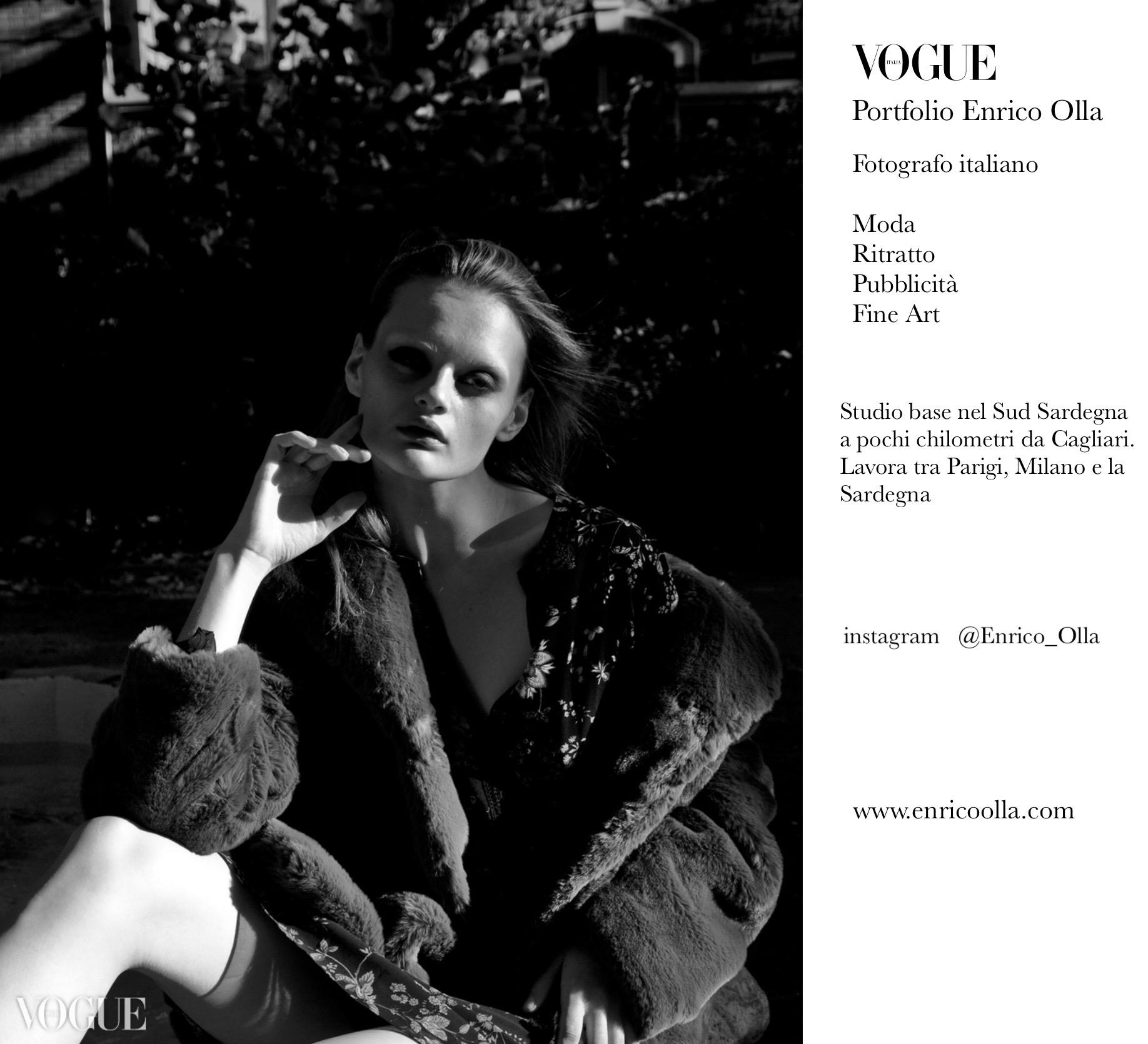 Enrico Olla Fotografo di Moda | Cagliari  Paris  Milano